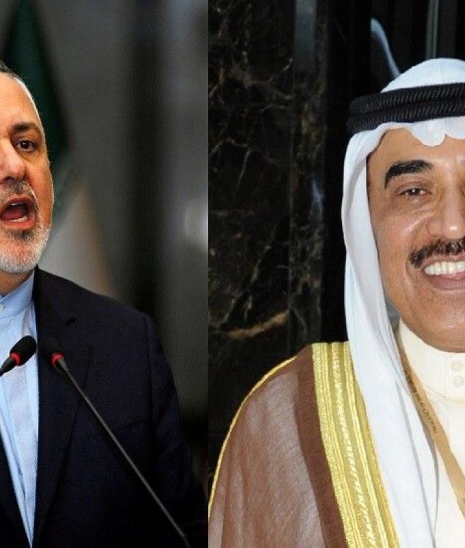 """ظريف: يبدو أن أمريكا وحليفتيها السعودية والإمارات تريد محاربة إيران """"حتى آخر أمريكي"""""""